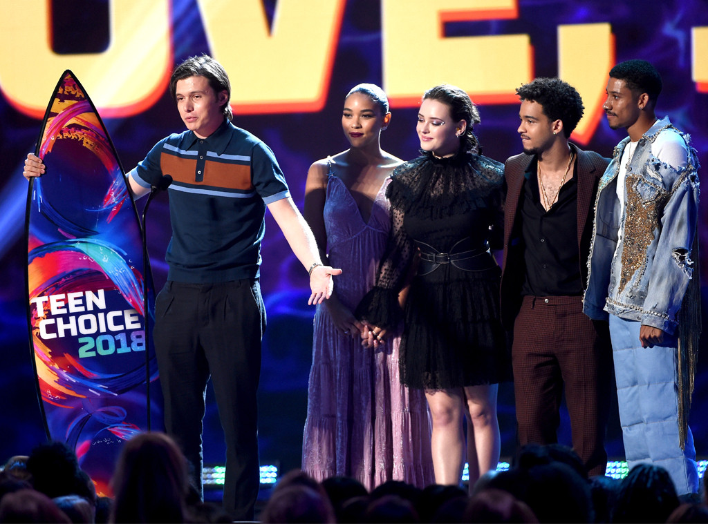 Love Simon, Nick Robinson, Katherine Langford, 2018 Teen Choice Awards, Show, Winners